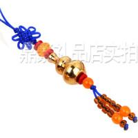 铜葫芦挂件手机链吊坠小葫芦钥匙扣平安汽车装饰品