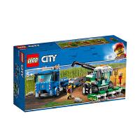 【当当自营】乐高(LEGO)积木 城市组系列City 玩具礼物5岁+ 收割机运输车 60223