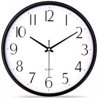 欧式静音挂钟客厅卧室办公时钟简约时尚挂表现代创意石英钟表