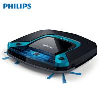 飞利浦 (Philips) 扫地机器人FC8794 家用智能规划拖地超薄5.8cm吸尘器 全自动擦扫拖地二合一体 干湿