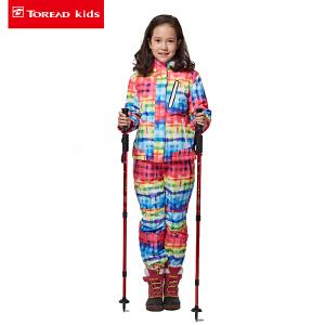 探路者童装 女童户外风格系列滑雪服