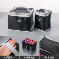 touch color马克笔专用收纳笔袋30/40/60/80色单支收纳袋赠送底座多功能油性正品马克笔套装学生整理袋