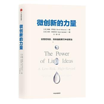 微创新的力量: 实现低风险、高收益的第三种创新法