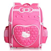 Hello Kitty凯蒂猫 KT1008玫红 可爱儿童书包小学生女孩减压护脊EVA双肩背包 当当自营