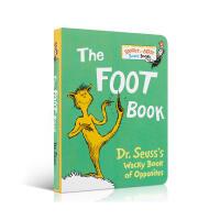 低幼适龄版 英语原版绘本 Bright and Early系列The Foot Book苏斯博士:千奇百怪的脚 廖彩杏