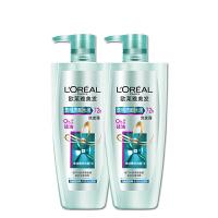 欧莱雅洗发水透明质酸去屑止痒洗发露男女无硅油洗发膏