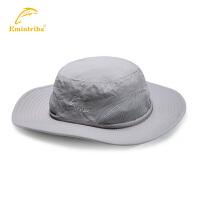 【三件99元】渔民部落 户外男女夫帽防晒遮阳帽透气防晒帽大帽沿 125123A