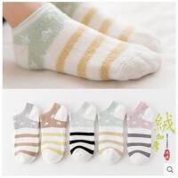 袜子女士加厚加绒短袜秋冬季保暖纯棉袜秋冬款日系韩国可爱学院风