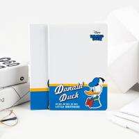 广博4本装A5卡通缝线软抄本记事笔记本子 迪士尼唐老鸭IQT11000