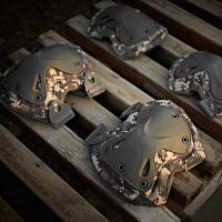 骑行兄弟福音军迷户外护具套装野战CS装备特种兵男训练防护战术用运动护膝护肘新品