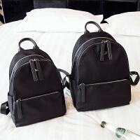 防水女士双肩包2018新款韩版潮简约百搭欧美牛津布帆布大容量背包