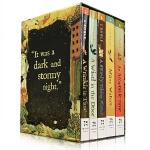 英文原版 The Wrinkle in Time Quintet 梅格时空大冒险 时间的折皱 全5册 盒装正版 10-