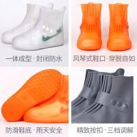 雨鞋女韩国可爱鞋套雨天防水防滑加厚耐磨底成人下雨男防雨雨鞋套