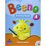 BEENO ACTIVITY BOOK 4(with CD)