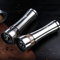 304不锈钢胡椒研磨器手动花椒胡椒粉瓶研磨瓶香料研磨器
