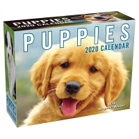 2020日历 小狗 萌宠 PUPPIES 2020 MINI DAY-TO-DAY CALENDAR