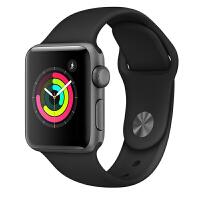 【当当自营】Apple Watch Series 3智能手表(GPS款 38毫米 深空灰色铝金属表壳 黑色运动型表带