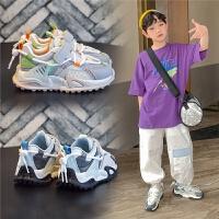 男童鞋子网面透气夏季老爹鞋儿童春秋款运动鞋单网鞋