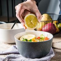 【支持礼品卡】家用吃饭可爱日式陶瓷碗饭碗沙拉碗面碗宿舍碗米饭碗泡面碗 r2u