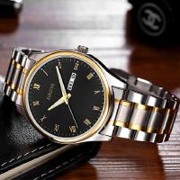 韩版时尚手表男士潮流简约男表超薄钢带学生夜光石英表