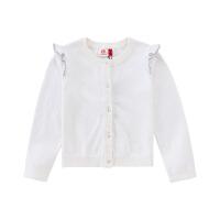 小猪班纳童装女童毛衣2020春季新款儿童针织衫小女孩毛衫纯棉弹力