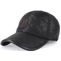 男士帽子冬天韩版棒球帽户外休闲运动秋冬季加厚保暖护耳鸭舌帽