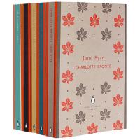 英文版小说Jane Eyre简爱 傲慢与偏见 英文原版书 套装共5本 呼啸山庄 理智与情感 爱玛 勃朗特 简奥斯汀文学
