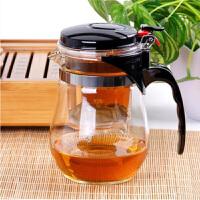 陶瓷故事玻璃茶具�h逸杯可拆洗�饶�泡茶杯水杯茶�剞k公杯800ml花茶泡茶�啬�岵AР杈哌^�V