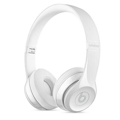 [当当自营] Beats Solo3 Wireless 头戴式耳机 炫白色 MNEP2PA/A可使用礼品卡支付 国行正品 全国联保