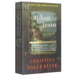 正版现货 孤儿列车 英文原版小说 Orphan Train 蔡康永推荐 进口英语书籍 全英文版文学小说书 可搭 追风筝