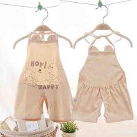 儿童背心式宝宝1婴儿2小肚兜棉夏天夏季薄款护肚12个月0-3岁6夏