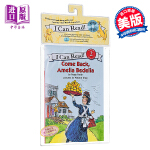 【中商原版】I Can Read Level 2 汪培�E 书+CD 英文原版 Come Back, Amelia Be