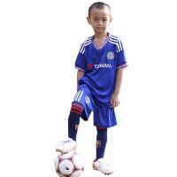 英超切尔西蓝色客场儿童足球服 训练蓝色 蓝色军团 26号特里 8号兰帕德足球短袖球衣训练套装