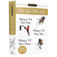 现货正版 亨利六世 英文原版 Henry VI 莎士比亚经典戏剧 英国历史剧 Shakespeare 英文版小说书 进