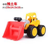沙滩工程车套装儿童挖机玩具车男孩挖掘机铲车翻斗车推土机挖土机