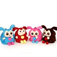 1-3周岁幼儿园儿童玩具毛绒书包婴儿小孩男 女宝宝可爱迷你双肩包