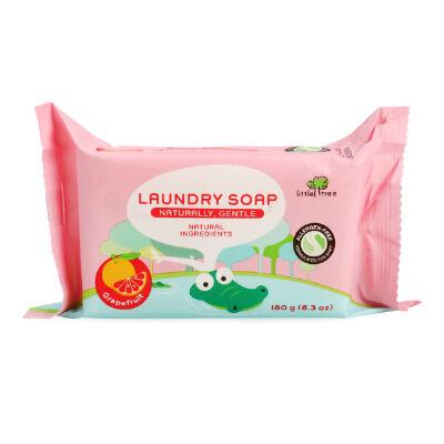 英国小树苗宝宝婴儿洗衣皂BB皂180g葡萄柚味儿童衣物清洁皂洗衣皂