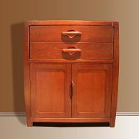 新中式家具 全实木斗柜 北欧风格家具海棠木斗柜/柜子