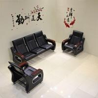 办公沙发茶几组合现代简约三人位办公室商务接待小型简易休闲会客