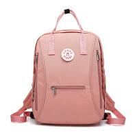 新款马卡龙多功能妈咪包双肩出行母婴背包女大容量宝妈电脑旅行包