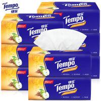 【领券立减50元】Tempo得宝纸巾抽纸 4层90抽9包纸抽抽纸巾 得宝苹果木味有香纸巾
