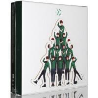 EXO冬日特别版专辑 十二月12月的奇迹+签名小片+写真+明信片