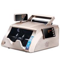得力3925点钞机 小型智能便携语音银行适用新版人民币双屏验钞机