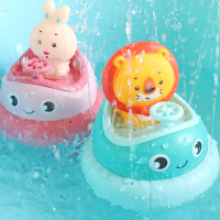 ����洗澡玩具抖音旋�D碰碰船�和�����水花�⒛信�孩���蛩�玩具