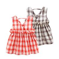 宝宝婴儿裙子6个月休闲外出衣服春装新生儿春季连衣裙款1岁