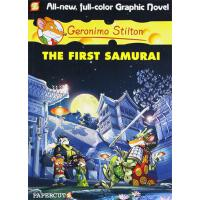 Geronimo Stilton (Graphic Novels) #12: The First Samurai 老鼠