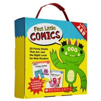 Scholastic First Little Comics Levels A&B New Readers 20册学乐初