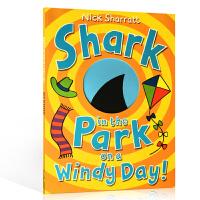 英文原版 Shark in the Park on a Windy Day! 吴敏兰推荐同系列绘本 0-3-6岁幼儿趣