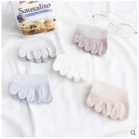 五指袜子女士分趾袜秋季船袜薄款浅口脚趾袜隐形可爱短筒运动袜