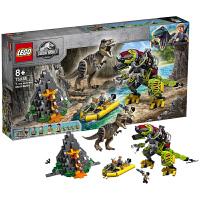 【当当自营】LEGO乐高积木侏罗纪世界系列75938 霸王龙大战机甲恐龙